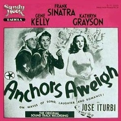 Anchors Aweigh Soundtrack  (Calvin Jackson, George Stoll) - CD cover