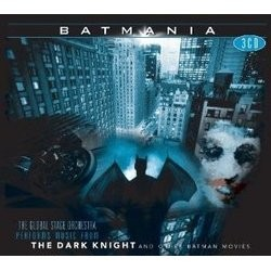 Batmania Soundtrack  (Danny Elfman, Elliot Goldenthal, James Newton Howard, Hans Zimmer) - CD cover
