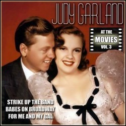 Judy Garland at the Movies, Volume 3 Soundtrack (Various Artists, Judy Garland) - CD cover