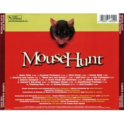 MouseHunt Soundtrack (Alan Silvestri) - CD Trasero
