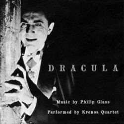 Dracula Soundtrack (Philip Glass) - CD cover