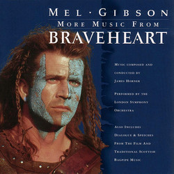 More Music From Braveheart Soundtrack (James Horner) - Carátula