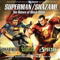 Superman/Shazam!: The Return of Black Adam Soundtrack (Benjamin Wynn, Jeremy Zuckerman) - Car�tula