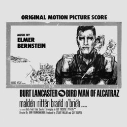Bird Man of Alcatraz Soundtrack (Elmer Bernstein) - CD cover