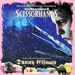 Edward Scissorhands Soundtrack (Danny Elfman) - CD cover