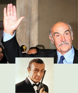 Sir Sean Connery 007:  25 August 1930 - 31 October 2020