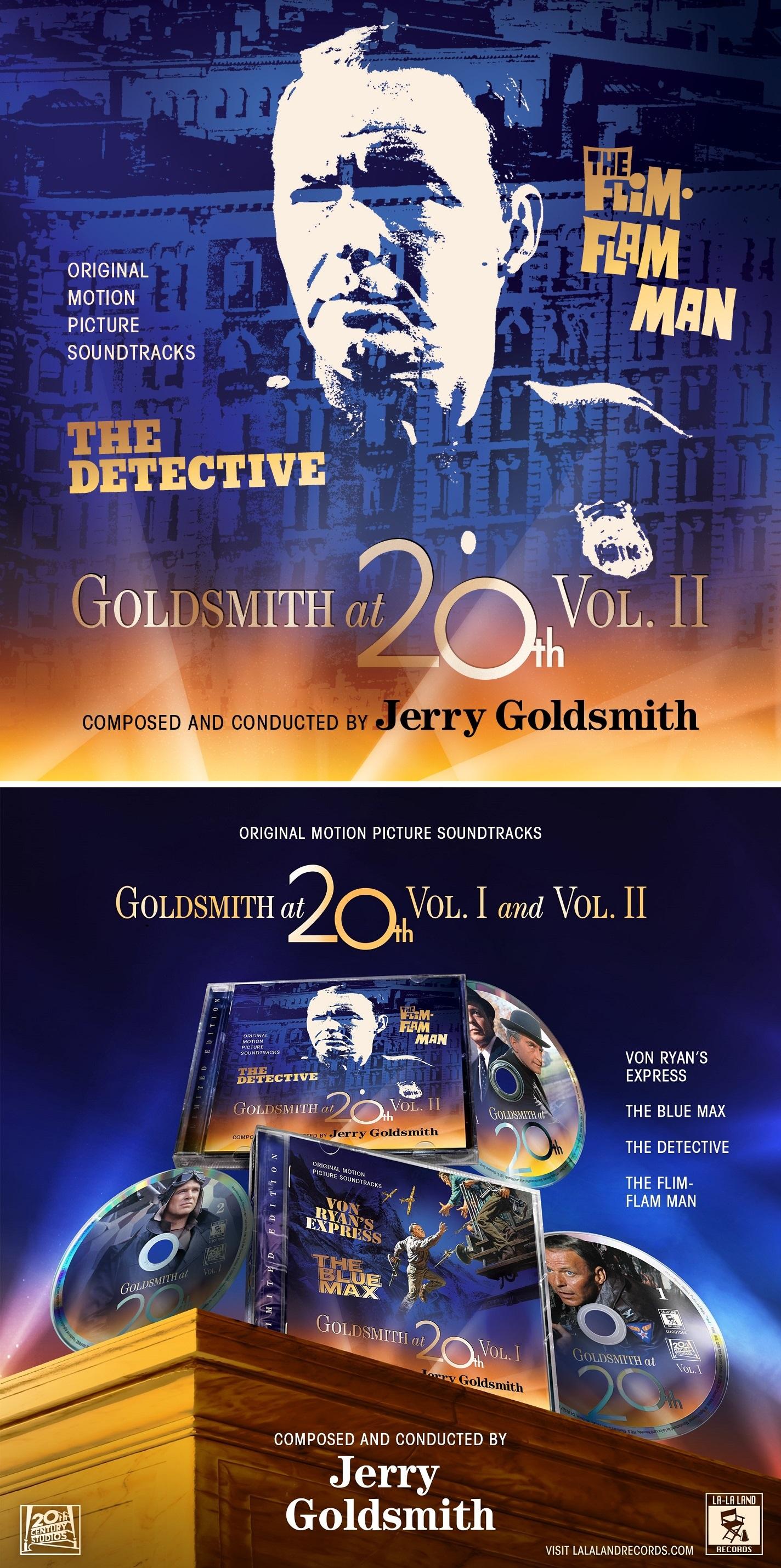 Goldsmith At 20th Vol. 2 – The Detective / The Flim-Flam Man