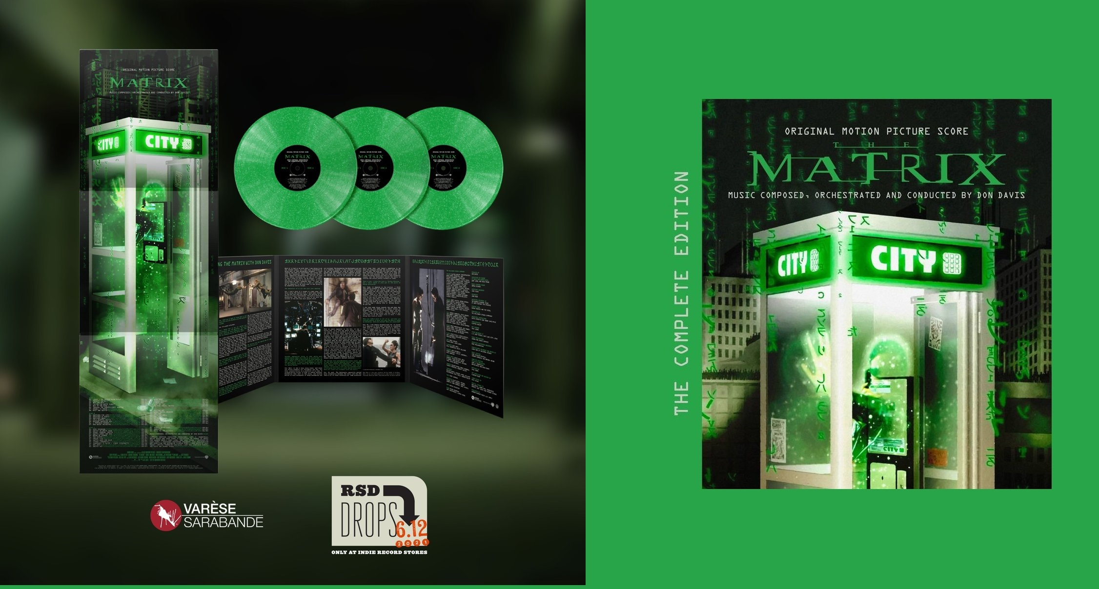 The Matrix (deluxe 3-LP set Record Store Day 2021)