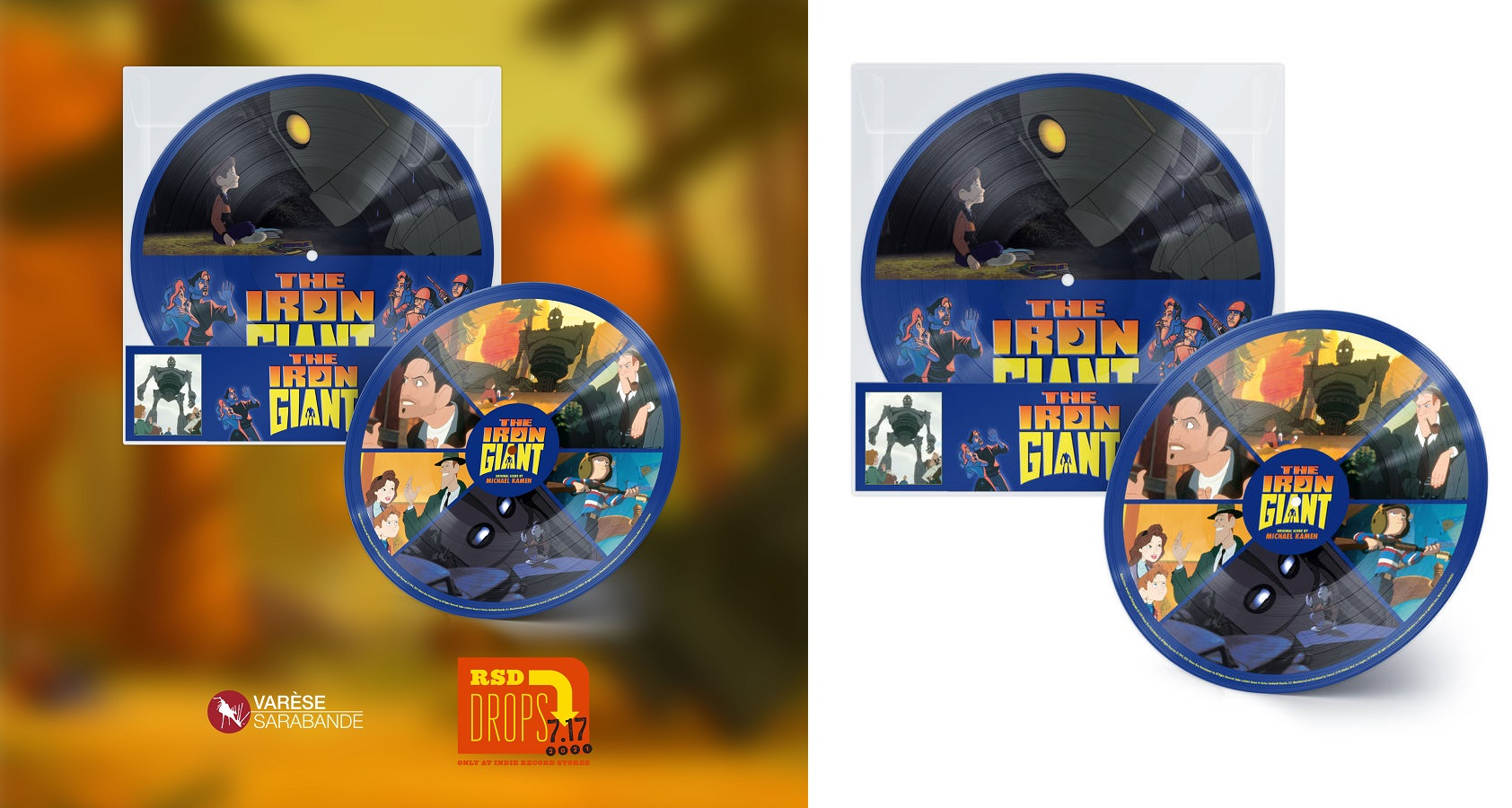 The Iron Giant Record Store Day 2021 (Picture Disc Vinyl)