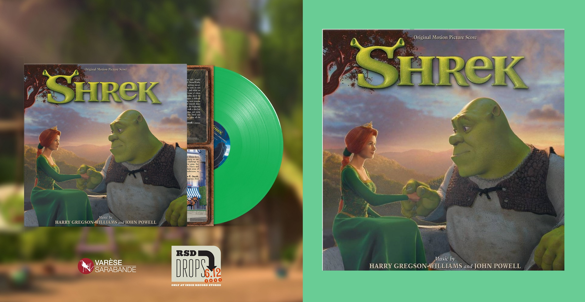 Shrek Record Store Day 2021 (Neon Green Vinyl)