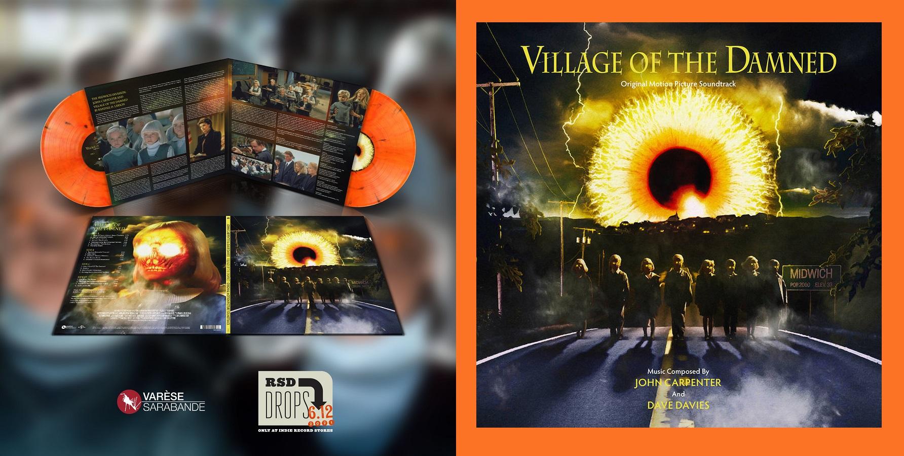 Village of the Damned Record Store Day 2021 (Orange Haze Vinyl)