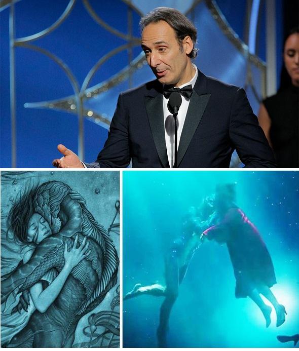 Alexandre Desplat Golden Globe Award 2018