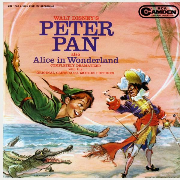 Walt Disney's Peter Pan Also Alice In Wonderland