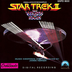 Star Trek II: The Wrath of Khan Soundtrack (James Horner) - Car�tula