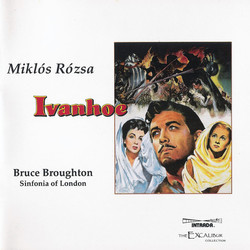 Ivanhoe (Re-recording) Soundtrack (Mikl�s R�zsa) - Car�tula