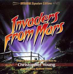 Invaders from Mars Soundtrack (David Storrs, Christopher Young) - Car�tula