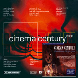 Cinema Century Collection Soundtrack  (Various Artists) - Car�tula