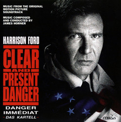 Clear and Present Danger Soundtrack (James Horner) - Car�tula