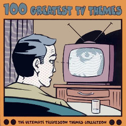 100 Greatest TV Themes Soundtrack  (Various Artists) - Car�tula