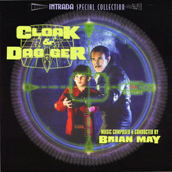 Cloak & Dagger Soundtrack (Brian May) - Car�tula