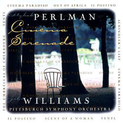 Cinema Serenade Soundtrack  (Itzak Perlman, John Williams) - Car�tula