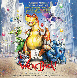 We're Back! A Dinosaur's Story Soundtrack (James Horner) - Car�tula