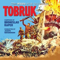Tobruk Soundtrack (Bronislau Kaper) - Car�tula