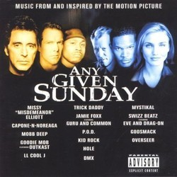 Any Given Sunday Soundtrack (Various Artists) - Car�tula