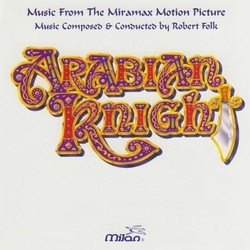 Arabian Knight Soundtrack (Robert Folk) - Car�tula