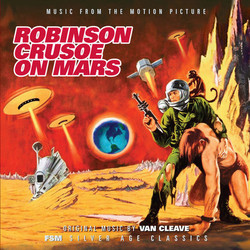 Robinson Crusoe on Mars Soundtrack ( Van Cleave) - Car�tula