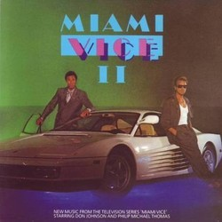 Miami Vice II Soundtrack (Various Artists, Jan Hammer) - Car�tula