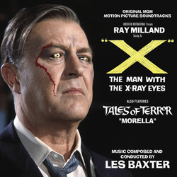 ''X'' The Man with the X-Ray Eyes Soundtrack (Les Baxter) - Car�tula