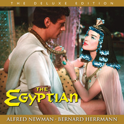 The Egyptian Soundtrack (Bernard Herrmann, Alfred Newman) - Car�tula