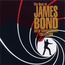 The Best of James Bond - 30th Anniversary Collection Soundtrack (Various Artists) - Car�tula