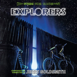 Explorers Soundtrack (Jerry Goldsmith) - Car�tula