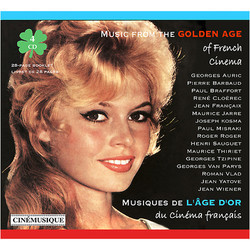 Musiques de l'�ge d'or du cin�ma fran�ais Soundtrack (Various Artists) - Car�tula