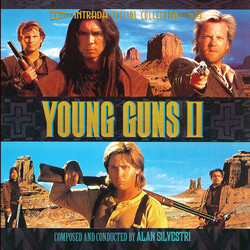 Young Guns II Soundtrack (Alan Silvestri) - Car�tula