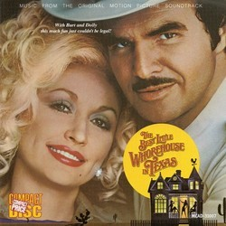 The Best Little Whorehouse in Texas Soundtrack (Various Artists, Patrick Williams) - Car�tula