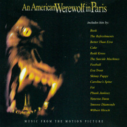 An American Werewolf in Paris Soundtrack (Various Artists, Wilbert Hirsch) - Car�tula