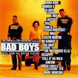 Bad Boys Soundtrack (Various Artists) - Car�tula