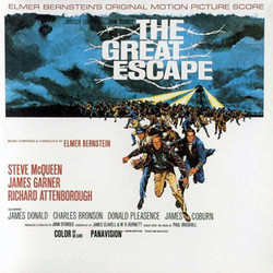 The Great Escape Soundtrack  (Elmer Bernstein) - Car�tula