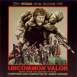 Uncommon Valor Soundtrack (James Horner) - Car�tula