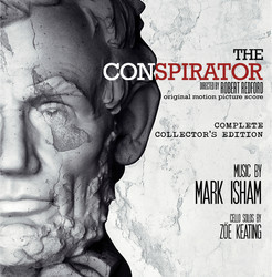 The Conspirator Soundtrack (Mark Isham) - Car�tula