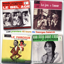 Les Premiers 45 tours de Georges Delerue Soundtrack (Georges Delerue) - Car�tula