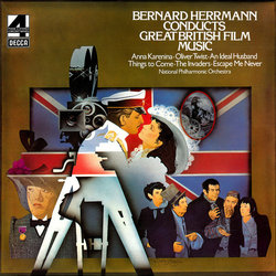 Bernard Herrmann Conducts Great British Film Music Soundtrack (Various Artists) - Car�tula