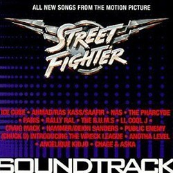 Street Fighter Soundtrack  (Various Artists) - Car�tula