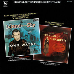 Island in the Sky / The Song of Bernadette Soundtrack  (Hugo Friedhofer, Alfred Newman) - Car�tula