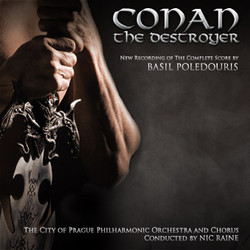 Conan the Destroyer Soundtrack  (Basil Poledouris) - Car�tula
