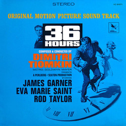36 Hours Soundtrack (Dimitri Tiomkin) - Car�tula