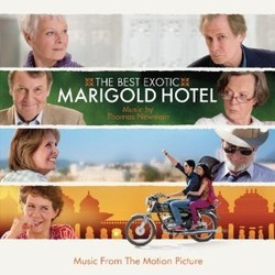 The Best Exotic Marigold Hotel Soundtrack  (Thomas Newman) - Car�tula